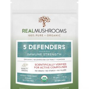 5 Defenders Organic Mushroom Complex