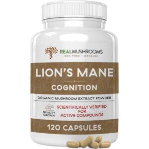 Organic Lions Mane Extract Capsules