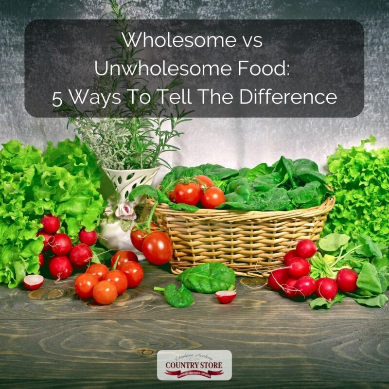 Wholesome vs Unwholesome Food: 5 Ways To Tell The Difference