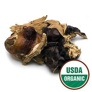Organic Red Reishi Mushrooms Whole